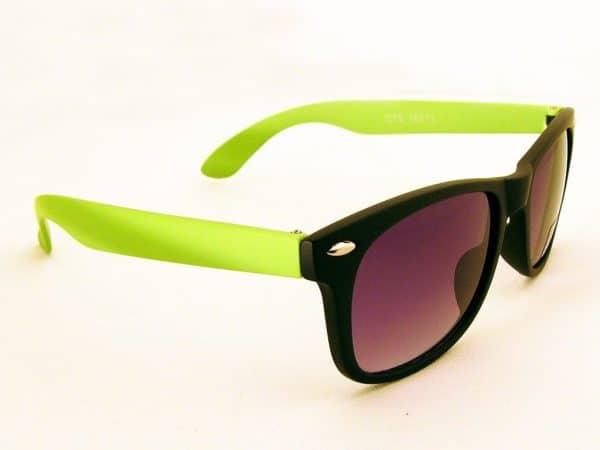 Wayfarer Tofarget (svart/grønn) - Wayfarer solbrille