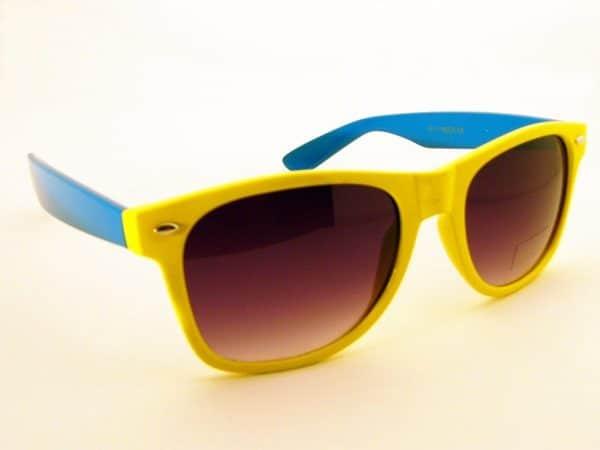 Wayfarer Tofarget (gul/blå) - Wayfarer solbrille