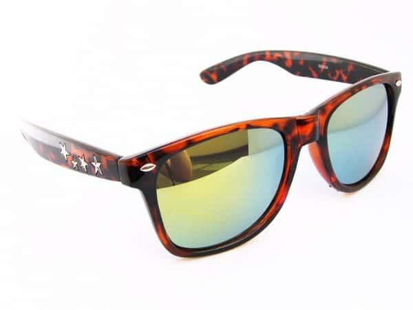 Wayfarer 4-stars (brun) - Wayfarer solbrille