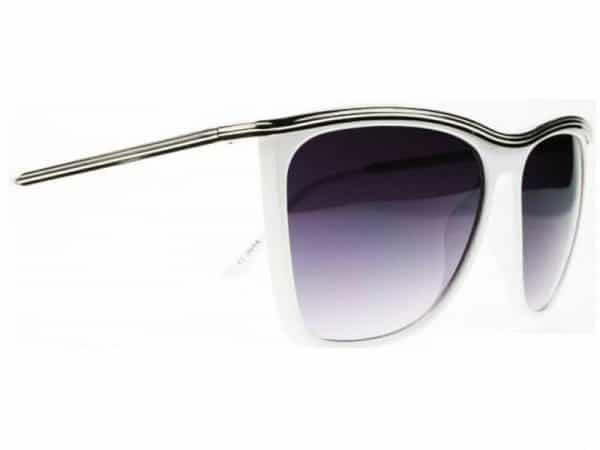 Bygone Fashion (hvit) - Fashion solbrille
