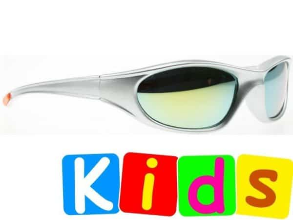 Biker Mirror Junior (grå) - Solbriller til barn