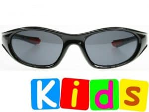 Biker Junior (svart) - Solbriller til barn
