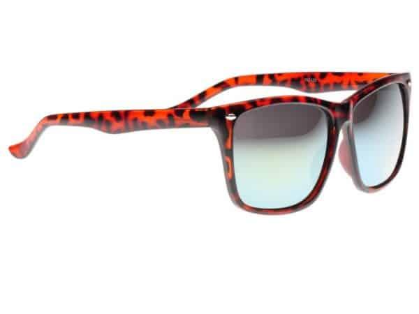 Wayfarer Oversized Green Mirror (leopard) - Wayfarer solbrille