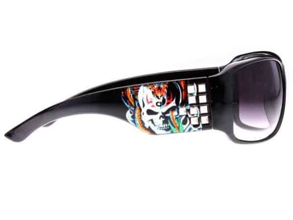 Tattoo Studded (svart) - Tattoo solbrille
