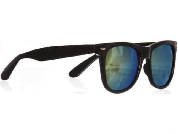 Wayfarer Green Mirror (svart) - Wayfarer solbrille