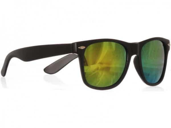 Wayfarer Yellow Mirror (svart) solbrille