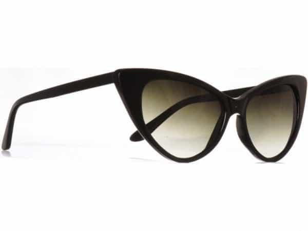 Cateye Classic (svart) - Fashion solbrille