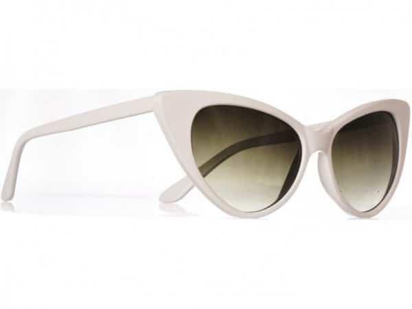Cateye Classic (hvit) - Fashion solbrille