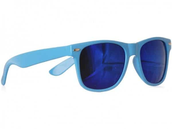 Wayfarer Blue Mirror (blå) - Wayfarer solbrille