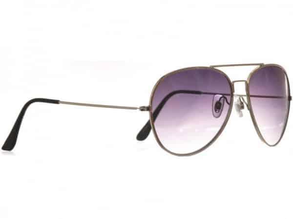 Pilot Smoke (silver) - Pilot solbrille
