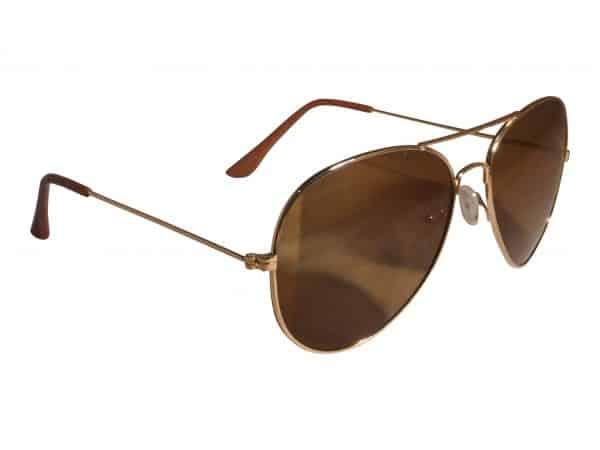 Pilot Smoke (gold) - Pilot solbrille