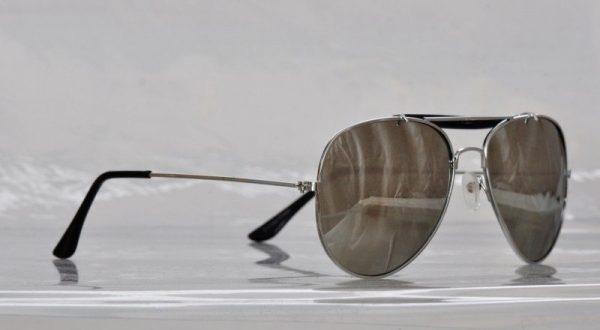 Pilot Silver Mirror - Pilot solbrille