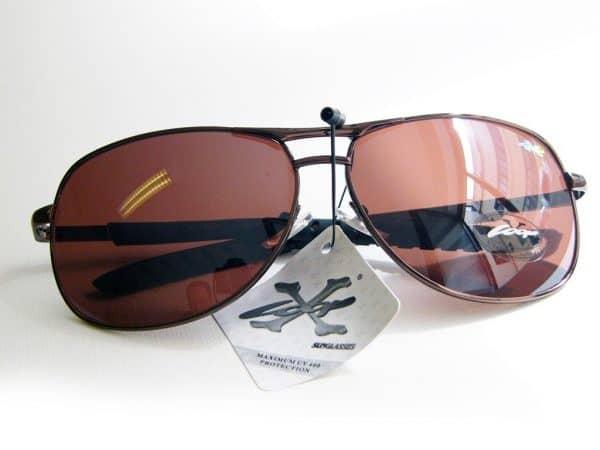 X-Loop pilot (brun) - X-Loop solbrille