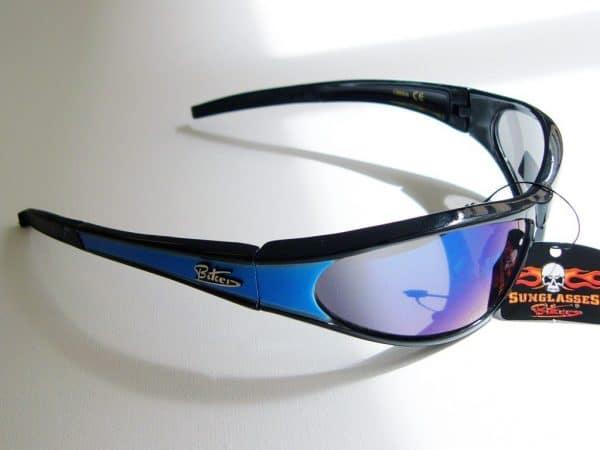 Biker (blå) - Biker solbrille