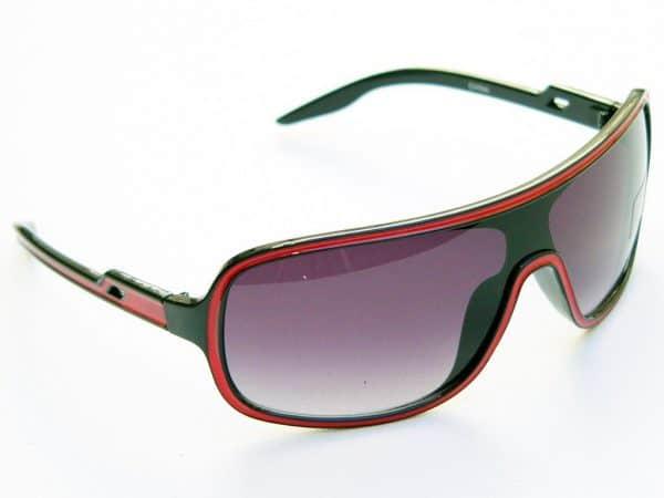 Vintage solbrille (svart/rød) - Vintage solbrille