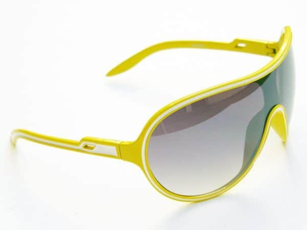 Vintage solbrille (gul/hvit) - Vintage solbrille