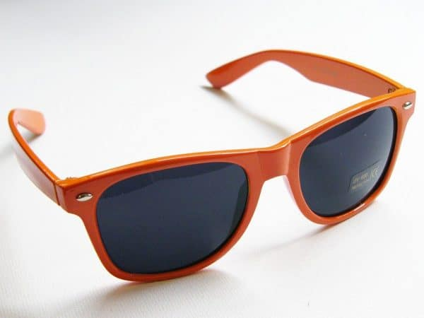 Wayfarer Classic (orange) - Klassisk wayfarer med orange ramme