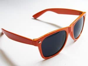 Wayfarer Classic (orange) - Klassisk wayfarer med orange ramme