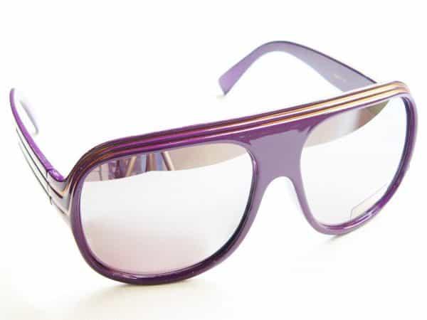 Billionaire Mirror (lilla) - Vintage solbrille