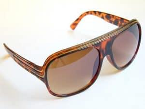 Billionaire Classic (brun) - Retro solbrille