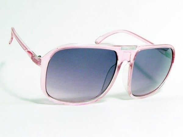 Retro Aviator (rosa) - Pilot solbrille