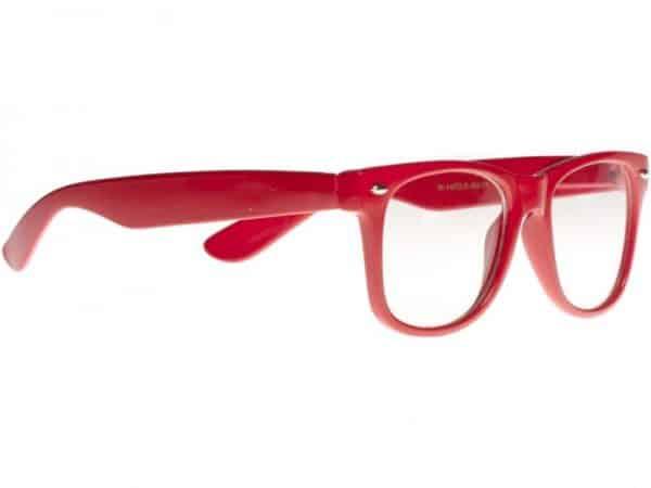 Wayfarer Clear (rød) - Wayfarer solbrille