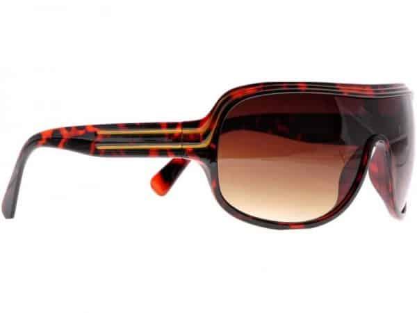 Billionaire Smooth (brun) - Retro solbrille