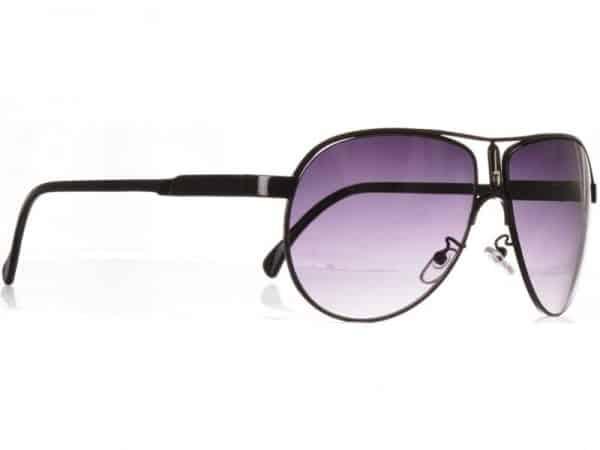 Aviator Riviera (svart) - Pilot solbrille