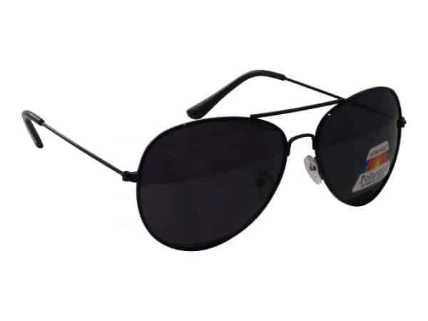 Pilot Polaroid (svart) - Pilot solbrille
