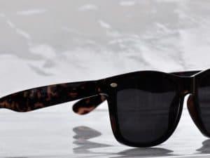 Wayfarer Superdark (brun) - Wayfarer solbrille