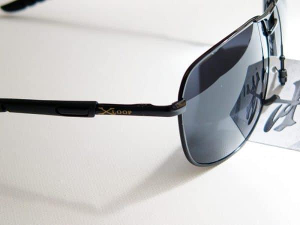 X-loop pilot (svart) - X-loop solbrille