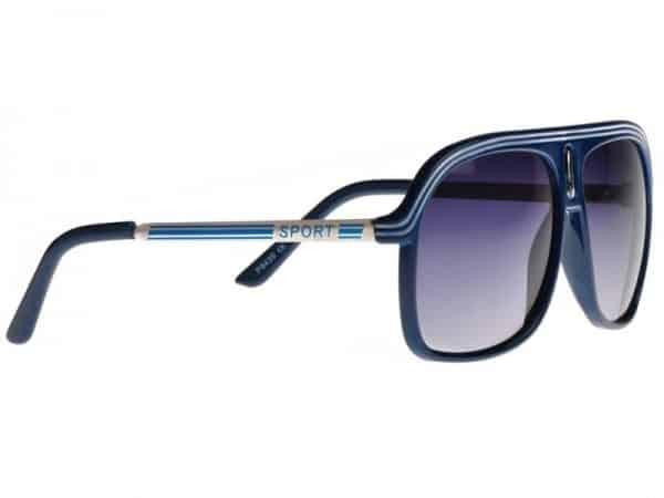 Aviator Sport (blå) - Pilot solbrille