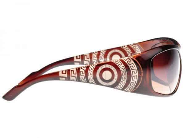 Designersolbrille (brun) - Designersolbrille