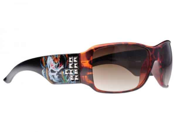 Tattoo Studded (brun) - Tattoo solbrille