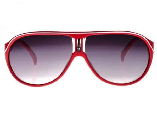 Aviator Sport (rød) - Pilot solbrille