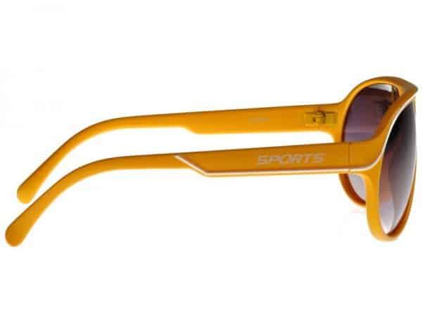 Aviator Sport (gul) - Pilot solbrille