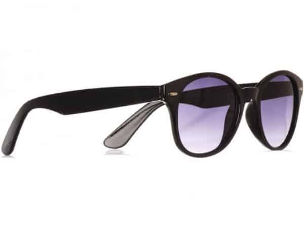 Wayfarer Round Vintage (svart) - Wayfarer solbrille