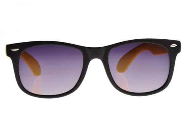 Wayfarer Tofarget (svart/gul) - Wayfarer solbrille
