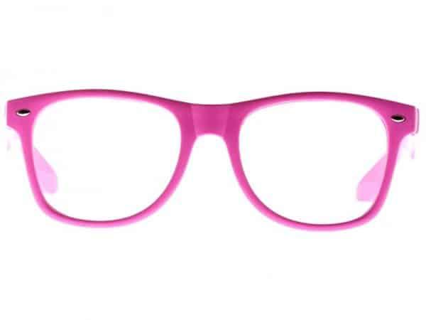 Wayfarer Clear (rosa) - Wayfarer solbrille