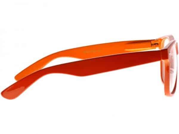 Wayfarer Clear (oransje) - Wayfarer solbrille