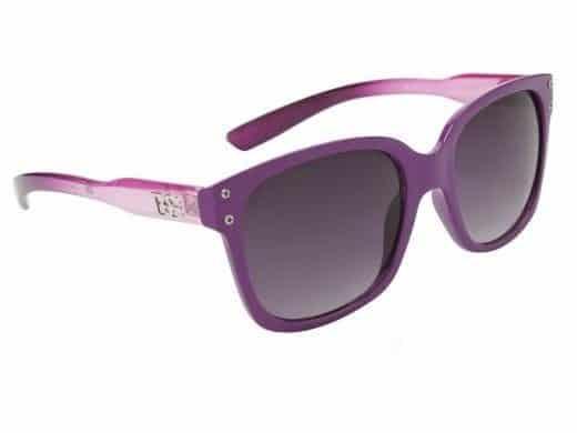 DE Retro Hollywood (lilla) - Wayfarer solbrille