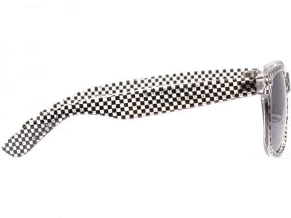 Wayfarer Checkmate (transp/svart)