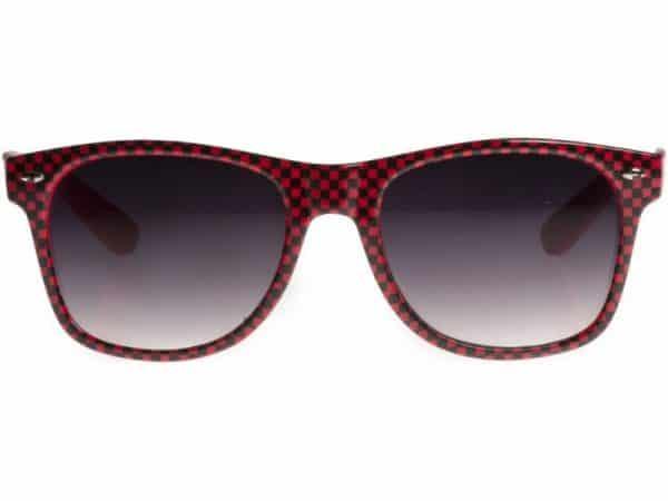 Wayfarer Checkmate (rød/svart) - Wayfarer solbrille