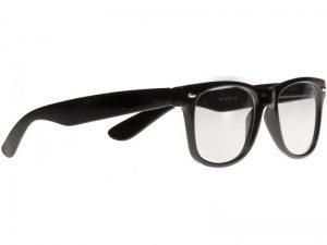 Wayfarer Small Clear (svart) - Wayfarer solbrille