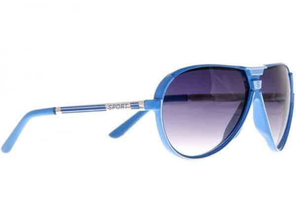 Aviator Sport (blå) - Retro solbrille