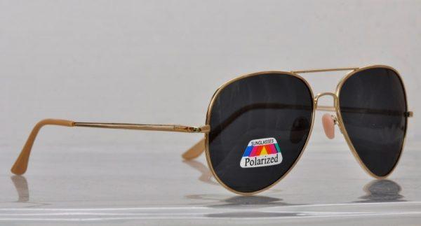Pilot Polaroid (silver) - Pilot solbrille