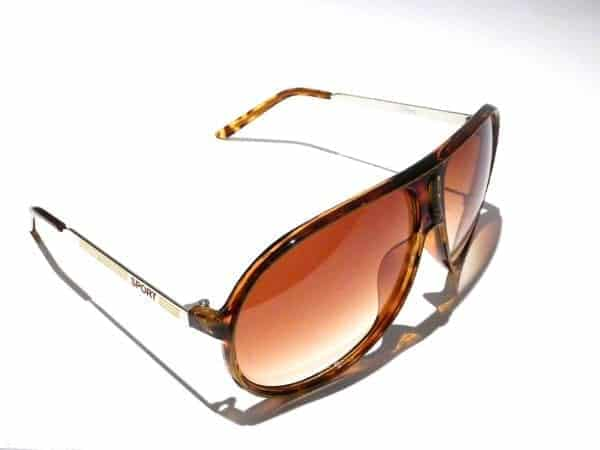 Aviator Sport (brun) - Pilot solbrille