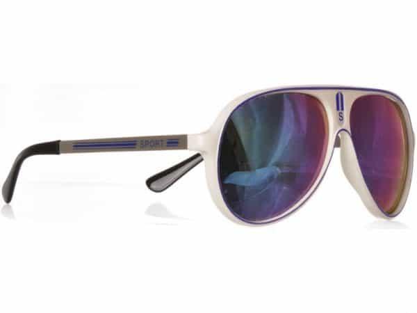 Aviator Sport (hvit) - Pilot solbrille