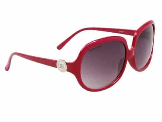 DE Paris Oval (rosa) - Retro solbrille
