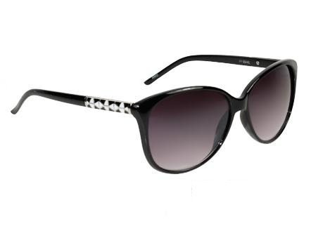 Cateye Retro Fashion (svart) - Retro solbrille